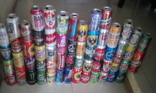 latas coleccion diferentes