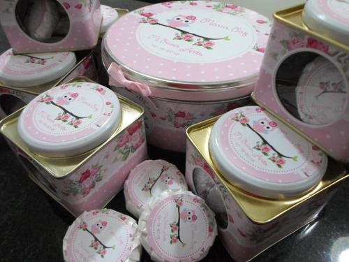 latas con visor personalizadas, souvenirs!!  zona norte