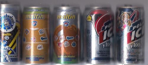latas d maltin y polar d peloteros,equipos d beisbol d vzla.