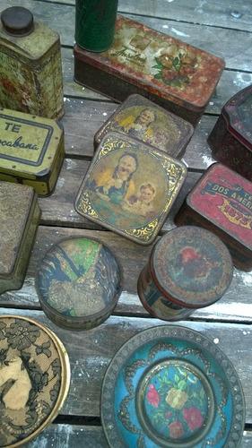 latas de colección amplia variedad