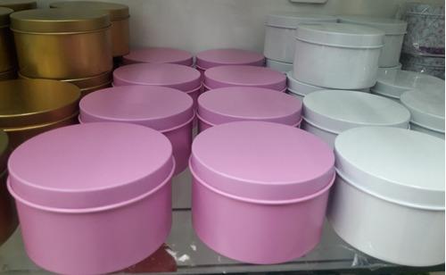 latas de colores para souvenirs