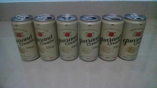latas de refrigerantes colecionador