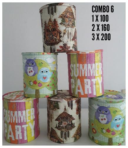 latas decorativas súper original para decorar tu hogar