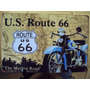 Carteles Metálicos Harley Davidson