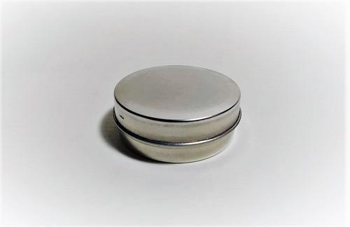 latas pastilleras 5,8cm x 2,5cm pack x 50 unidades souvenirs