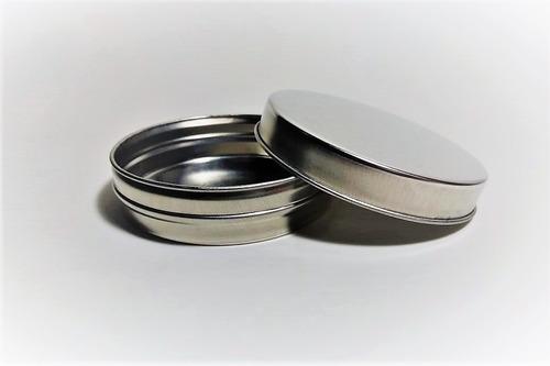 latas pastilleras de 7.5cm x 2.5cm. pack x 100 unidades.