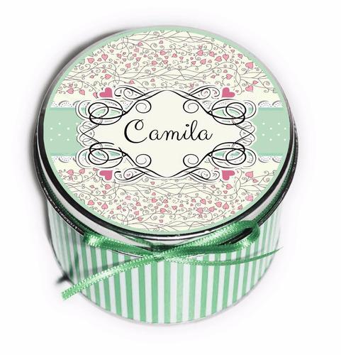 latas souvenirs personalizadas primer añito!! hermosas!!!