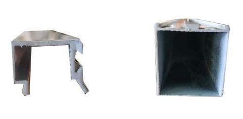 lateral marco puerta batiente de aluminio (6,10m)