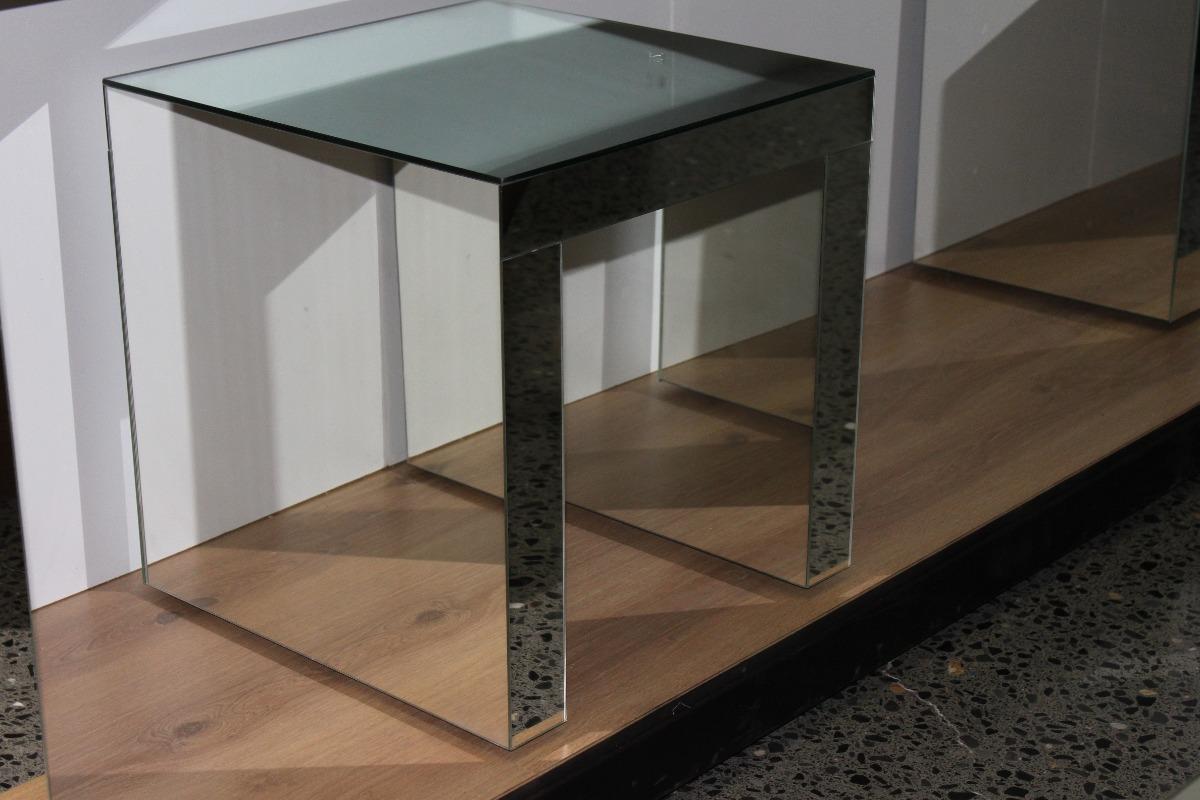 Lateral mesa de centro mesa para sala mesa de espejo for Espejos para mesa