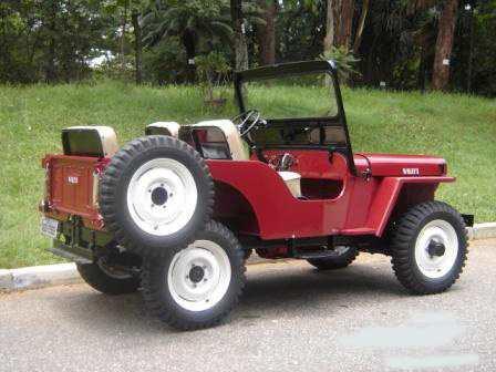 lateral traseira do jeep até 54 cj3 nova ld. esquerdo