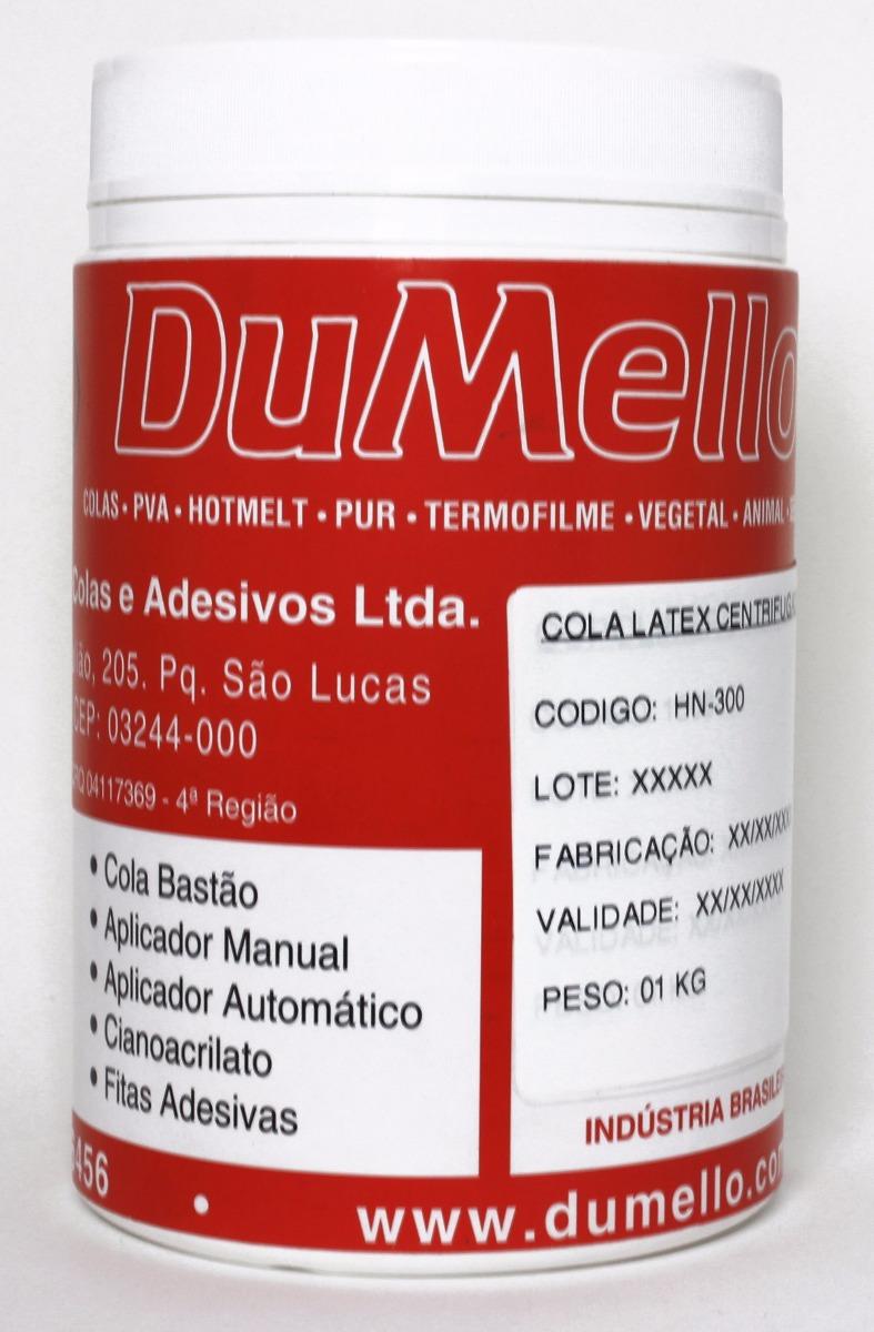 33b0885bce0da Látex Centrifugado Líquido 01 Kg - Cola Contato Látex - R  34