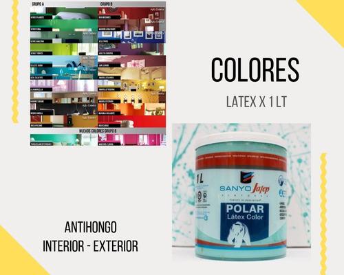 latex color interior exterior 1 lt cubritiva