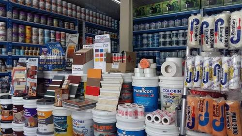 latex colorin acrylatex interior / exterior x4 litros blanco
