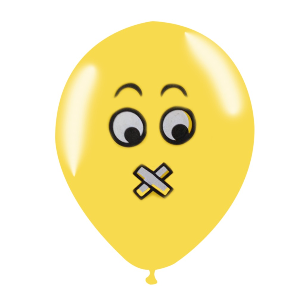 8f44ae798cc Pack De 4 Globos Emoticon Latex R10 Cotillon Fiestaclub - $ 790 en Mercado  Libre
