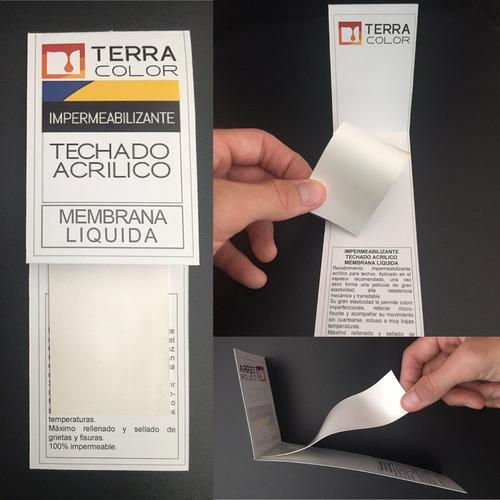 látex exterior terracolor 20 litros