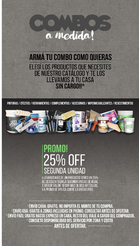 látex interior 20lt sanyo jafep envío gratis* + promo 25%off