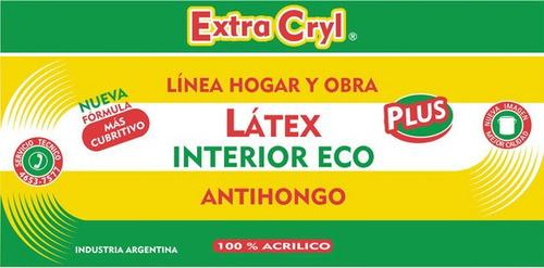 látex interior eco plus (super económico) x 20 lts.
