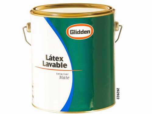 latex interior lavable glidden 4 lts. inca