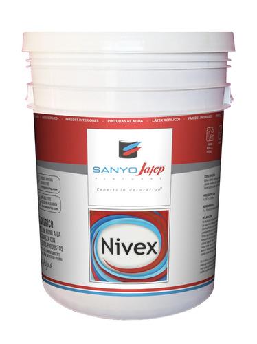 látex interior nivex 10 litros sanyo jafep promo + envío