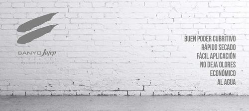 látex interior nivex 12.5 kilos sanyo jafep promo + envío