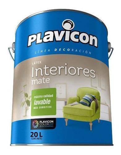 latex interior plavicon antihongos lavable x 20 litros