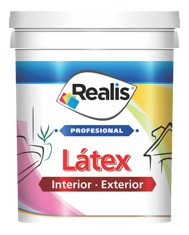 latex interior realis x 20 lts blanco