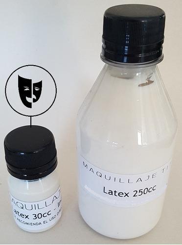 latex liquido prevulcanizado para fx maquillaje titi 30cc