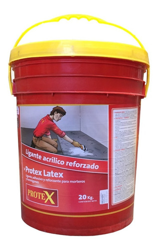 latex protex 20kg puente adherencia vincula morteros