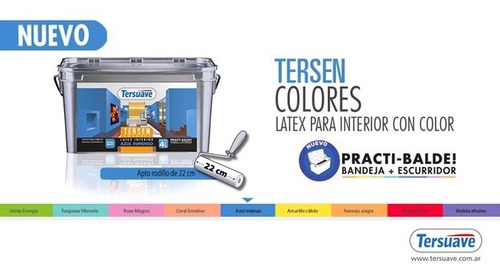 latex tersen tersuave interior color 1 l gema