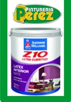 latex z 10 interior 1 litro pintura premium sherwin williams