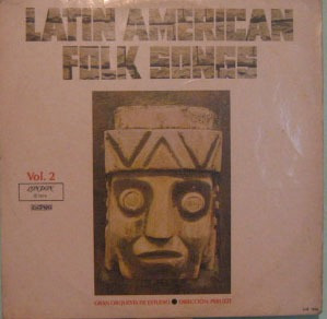 latin american - folk songs volume 2 - 1974