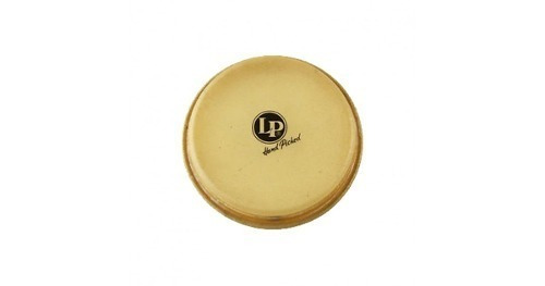 latin percussion - parche bongo cabeza 8 5/8  cuero natural