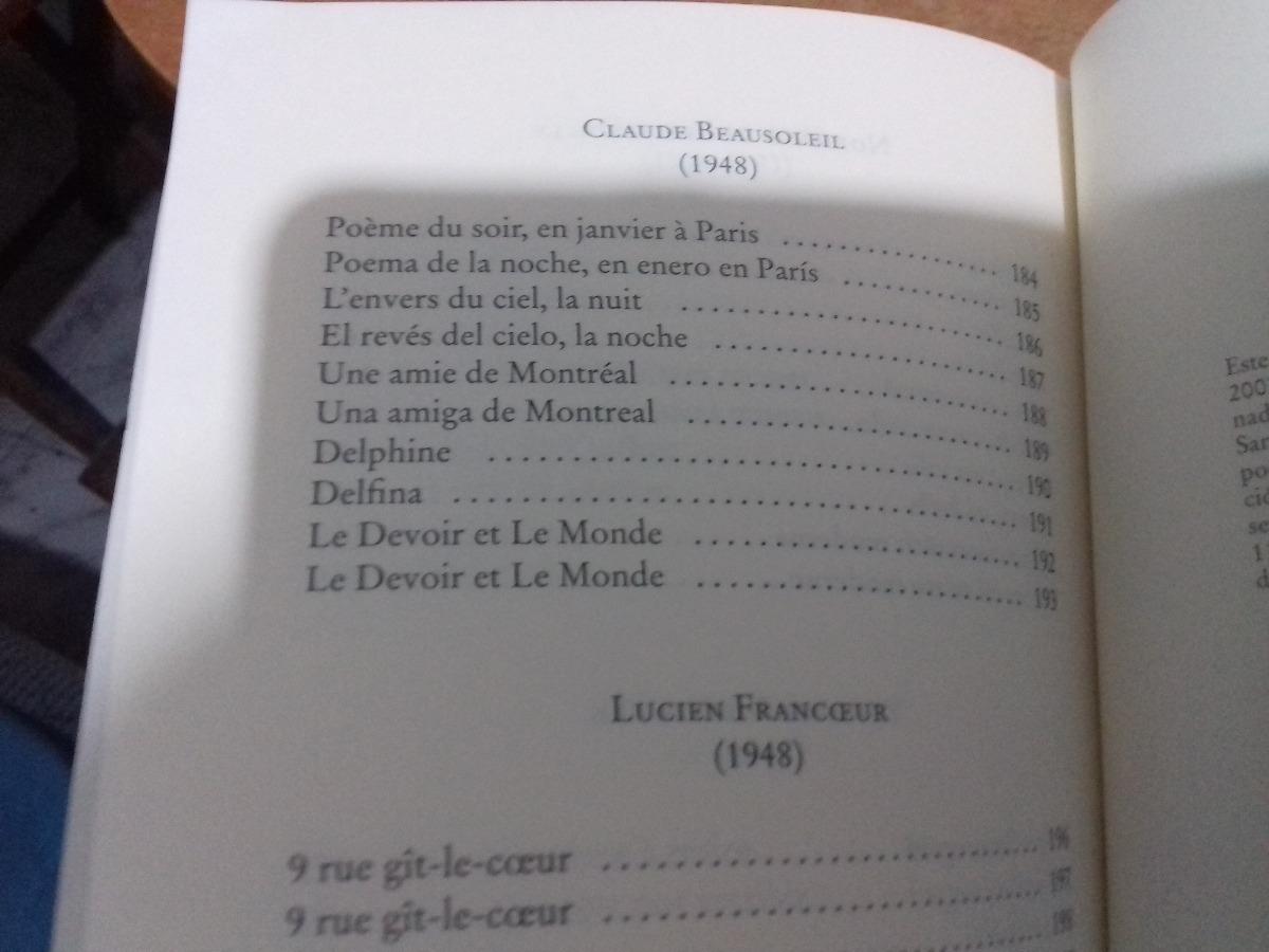 Latinos Del Norte Poesia De Quebec Bernard Pozier Poesia 149900