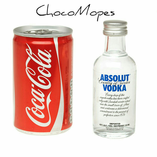 latita coca cola + absolut vodka