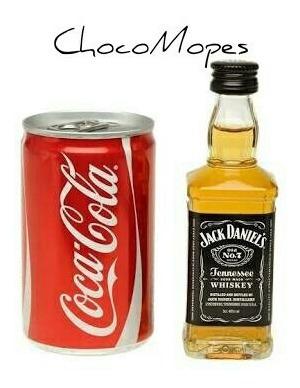 latita coca cola + jack daniels