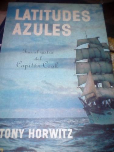 latitudes azules. tony horwitz.