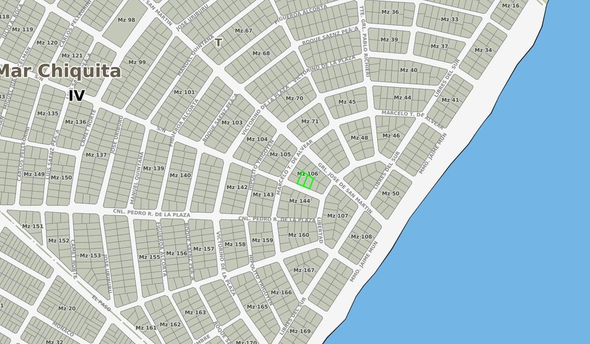 latorre prop. vende 2 lotes juntos  en barrio camet norte -