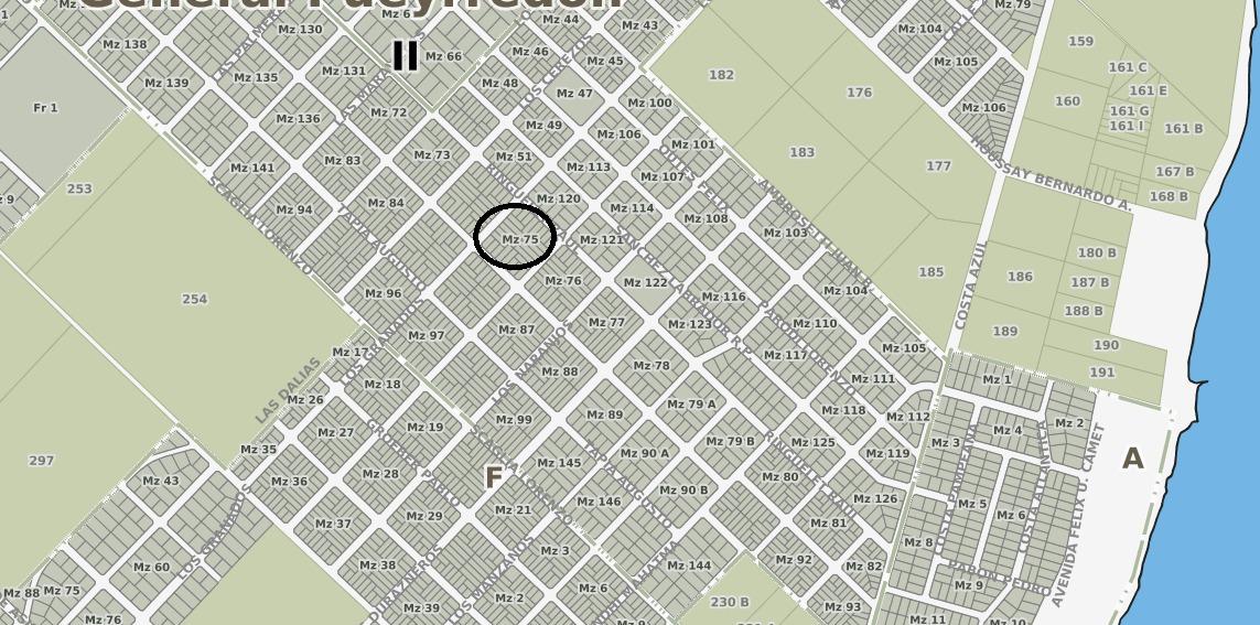 latorre prop. vende lote de 444 m2 en parque peña