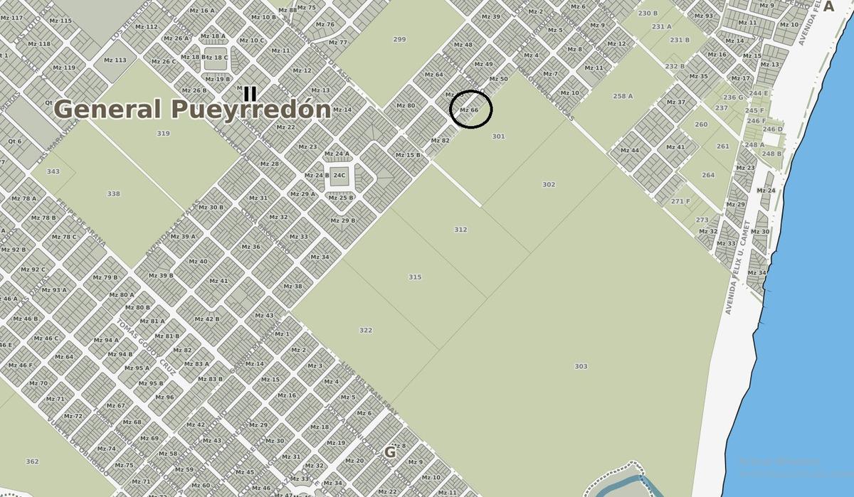 latorre prop. vende lote de 505 m2 en parque peña - escriturado