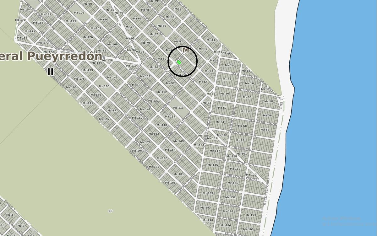 latorre prop. vende lote en barrio felix u. camet - escriturado