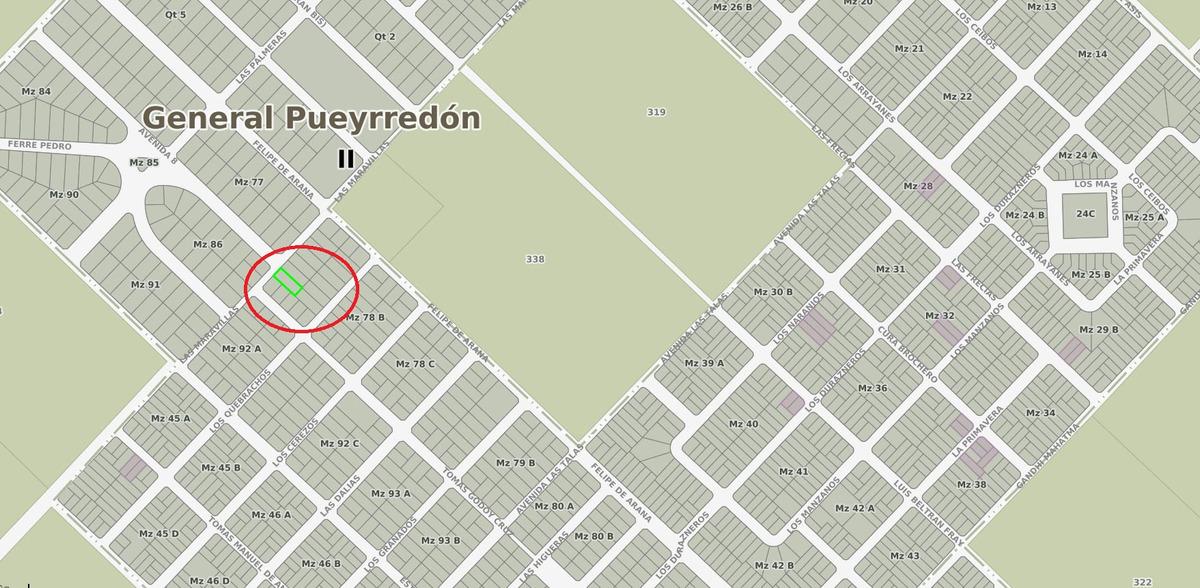 latorre prop. vende lote en barrio las dalias -