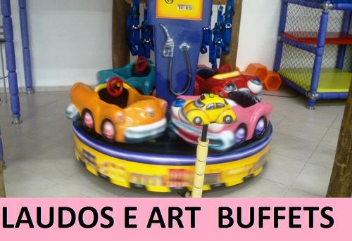 laudo buffet infantil engenheiro mecanico art parecer tecnic