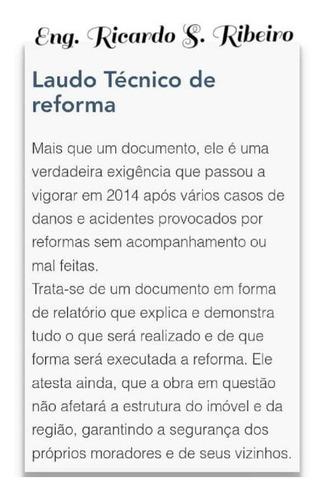 laudo de reforma