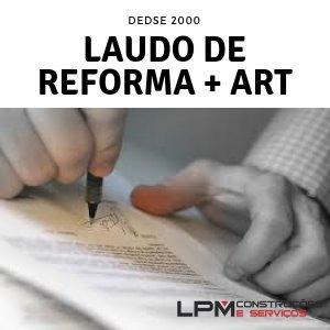 laudo de reforma + art - eng. especialista perito unesp