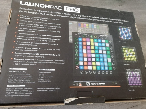 launch pad pro the profesional grid performance instrument