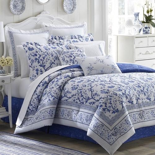 laura ashley charlotte 16-inch decoracionative almohada