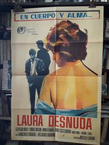 Laura Desnuda Afiche Cine Original