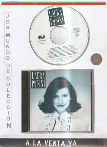 laura pausini  - cd original - un  tesoro musical