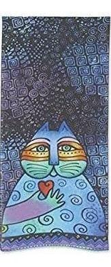 laurel burch mujeres bufanda artística bufandas gatos sirena