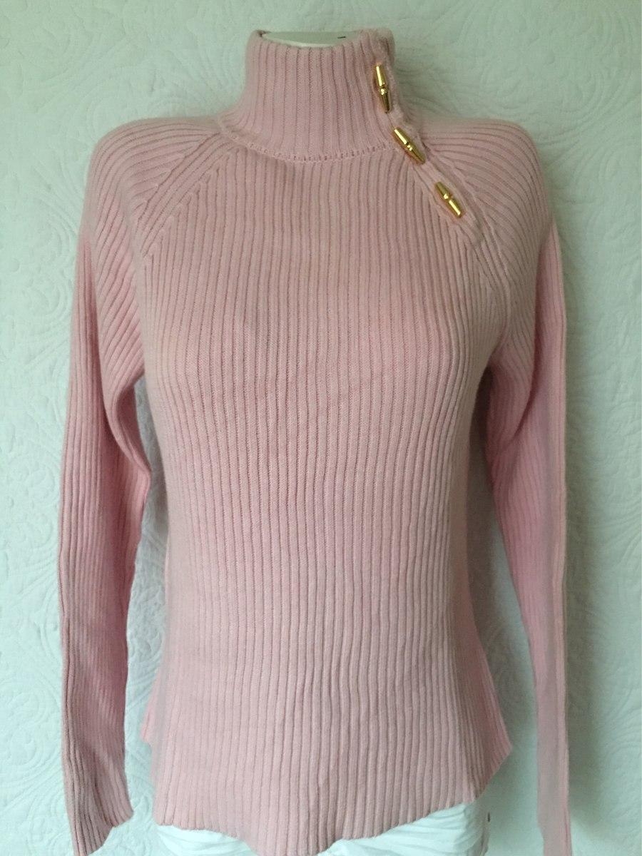 ... low price lauren ralph lauren sweater chaleco cuello alto rosado l. cargando  zoom. 213bf3c5677